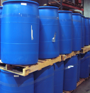HDPE 55 gallon drums